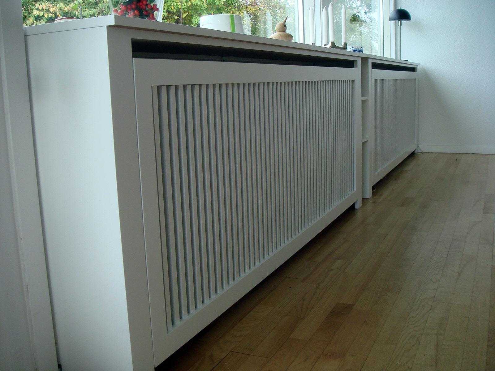 Køb radiatorskjuler – Skrivebord til højseng